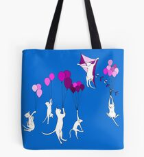Flying Cats Tote Bag