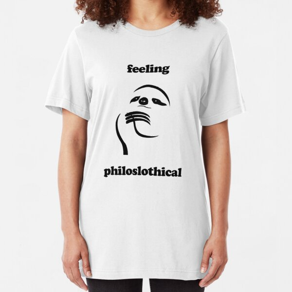 Feeling Philoslothical Slim Fit T-Shirt