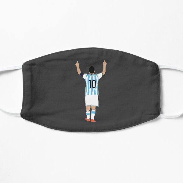Lionel Messi, Argentina. Mascarilla plana