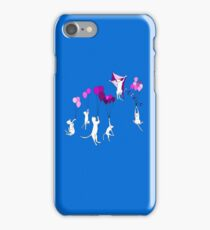 Flying Cats iPhone Case/Skin