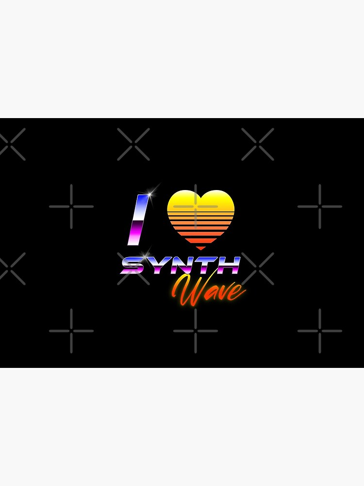 I Love Synthwave by GaiaDC