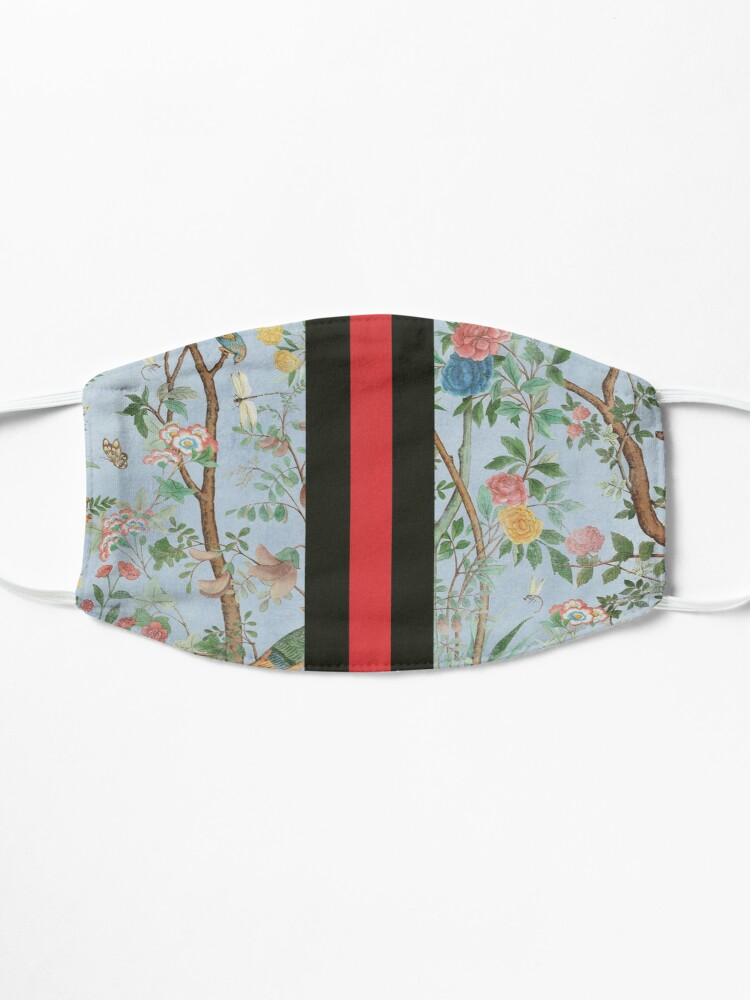 Alternate view of Flowers pattern Mask