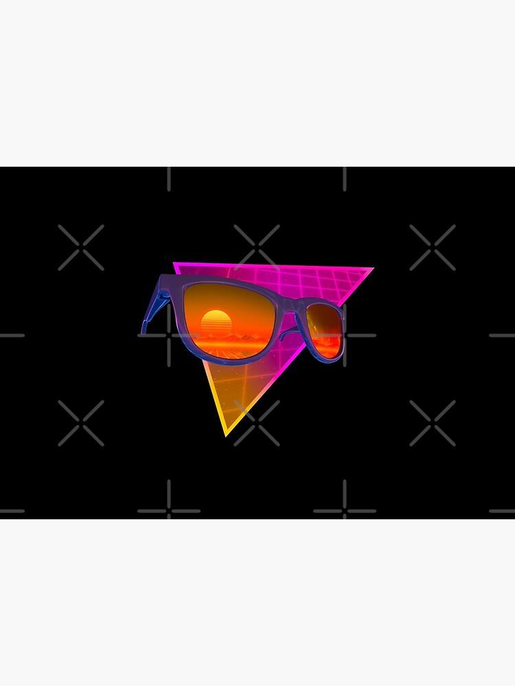Sunglasses in space (Purple) by GaiaDC