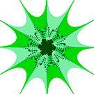 Mesem Fractal Green by Steve Purnell