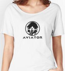 Aviator Fighter Pilot Women's Relaxed Fit T-Shirt