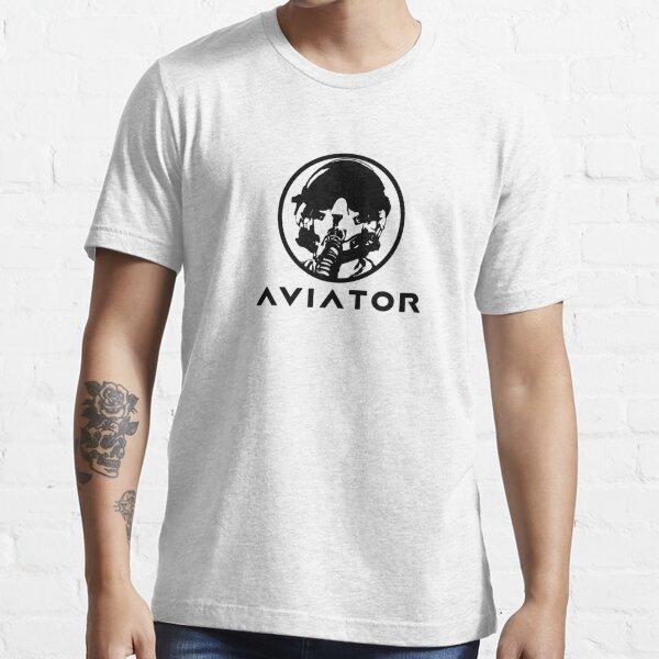 Aviator Fighter Pilot Essential T-Shirt