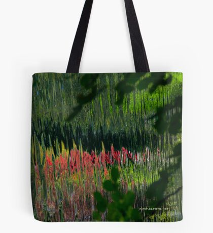 Study in Pink and Green Tote Bag