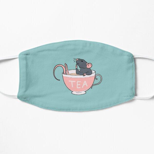 Spill the Rat-Tea Blue Flat Mask