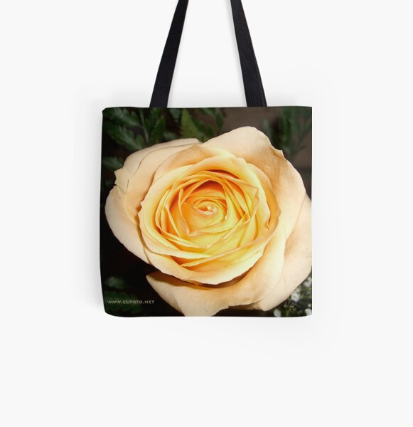 Only a Rose, Vancouver, BC All Over Print Tote Bag