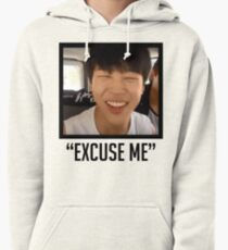 Jimin Excuse Me With Words Pullover Hoodie