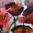 Bleeding Poppies by Pamela Hubbard