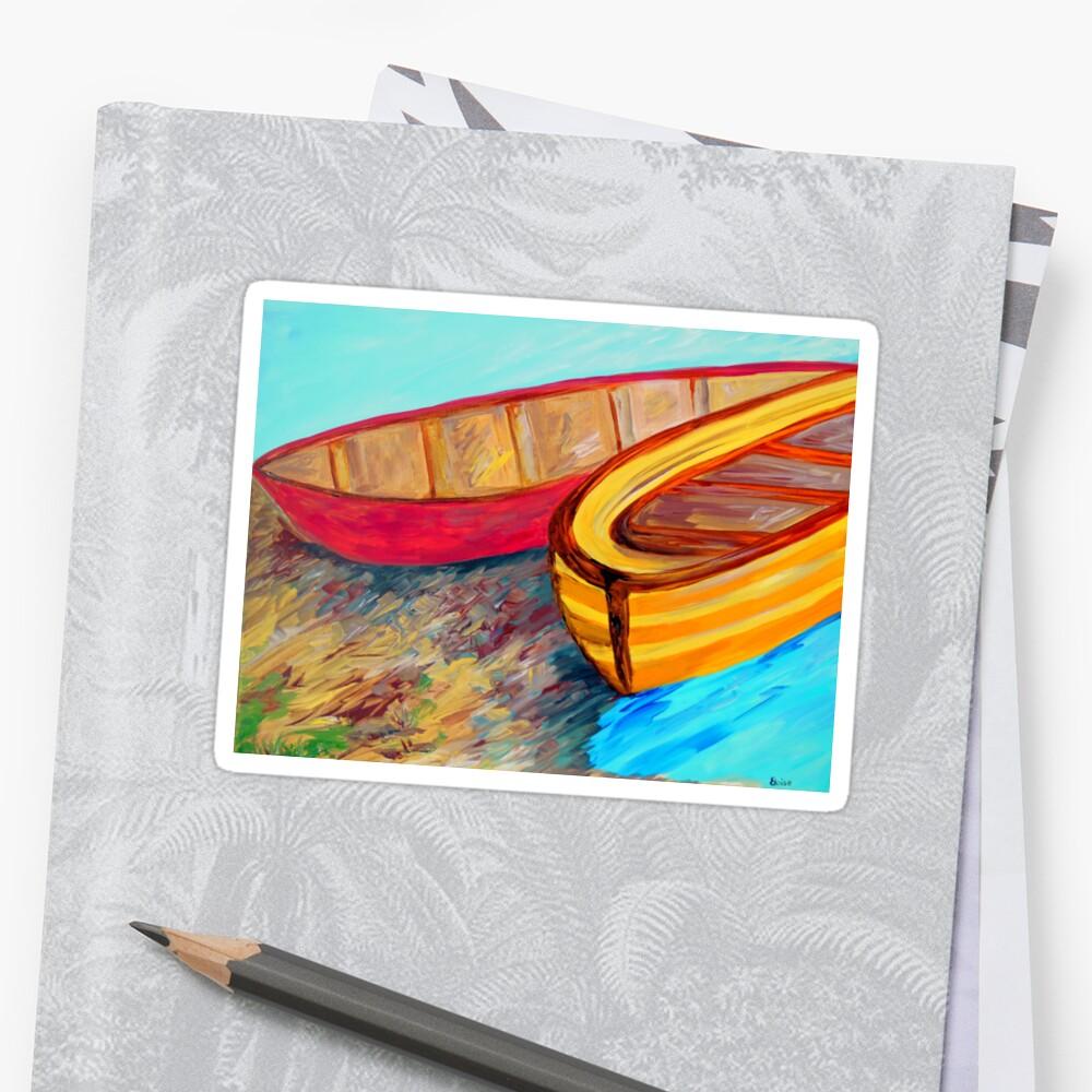 Boats in Waiting by EloiseArt