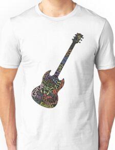 Guitar Typology Unisex T-Shirt