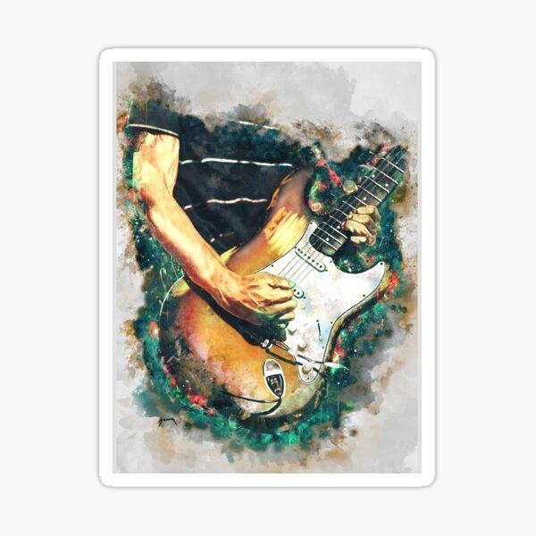 John Frusciante's electric guitar Sticker