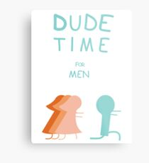 "Regular Show ""Dude Time"" Metal Print"