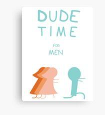 "Regular Show ""Dude Time"" Canvas Print"
