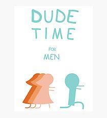 "Regular Show ""Dude Time"" Photographic Print"