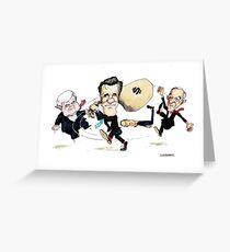 Mitt Romney Wins Republican Nomination Greeting Card