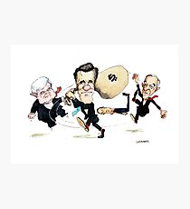 Mitt Romney Wins Republican Nomination Photographic Print