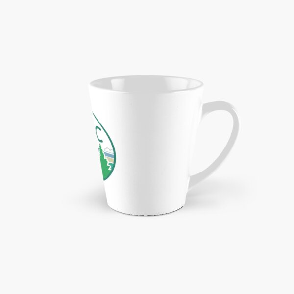 Beverage Containers - Round Logo Tall Mug