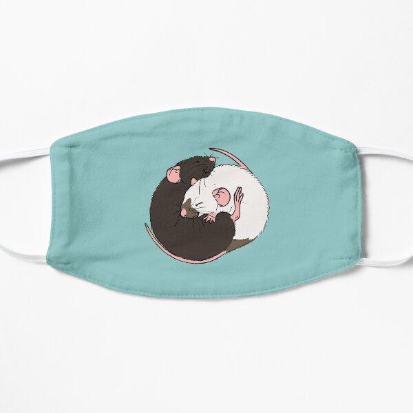 Cuddling Rats Siamese and Black Mask