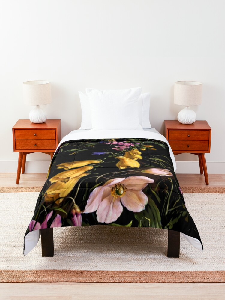 Alternate view of Midnight Forest II Comforter