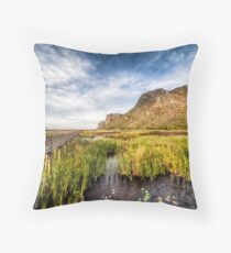 Walk This Way Throw Pillow