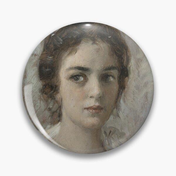 Portrait Study of a Woman, possibly Maria Yakunchikova Pin