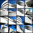 Guggenheim Collage by Ellen  Hagan