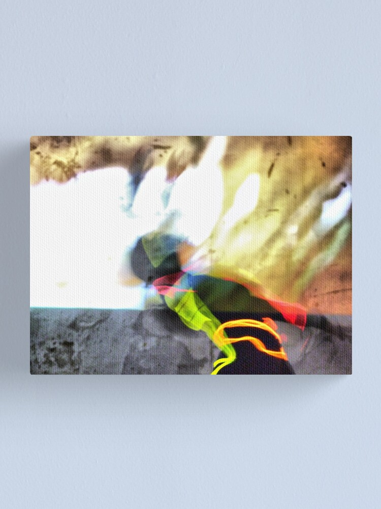 Alternate view of Abstractamente tests Canvas Print