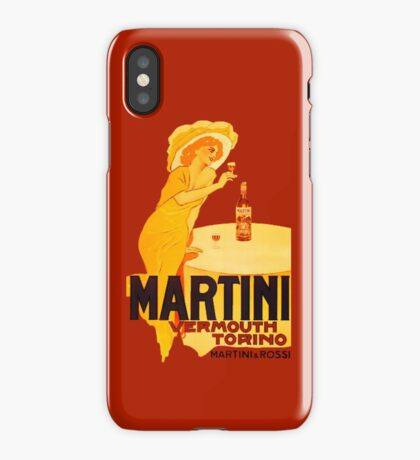 Martini Rosso Vermouth iPhone Case