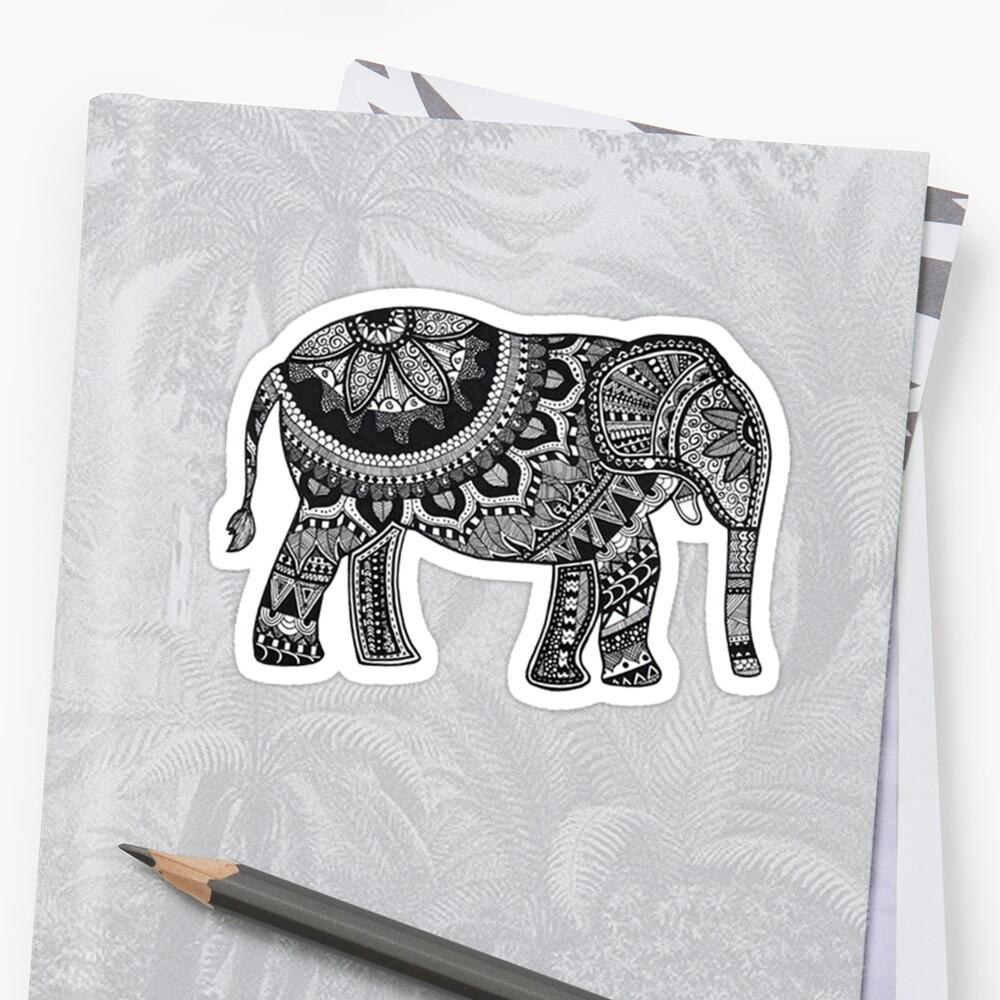 MANDALA ELEPHANT by daniellacurcio