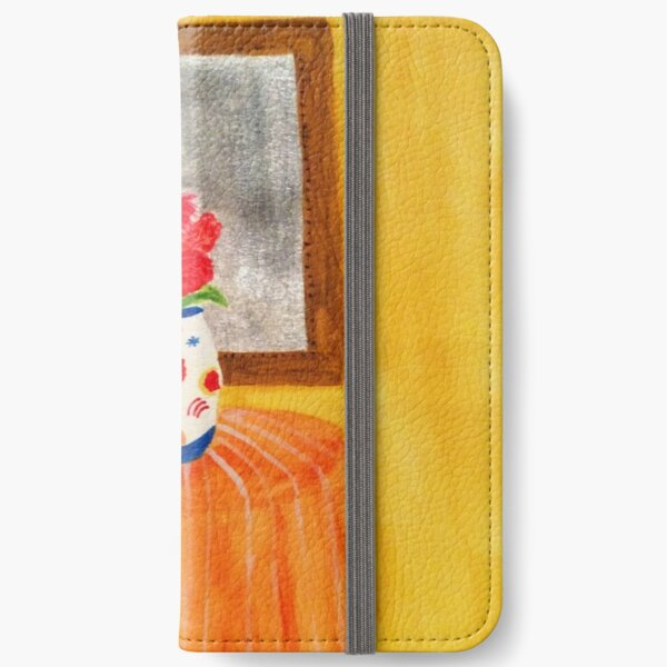 Colorful Flowers iPhone Wallet