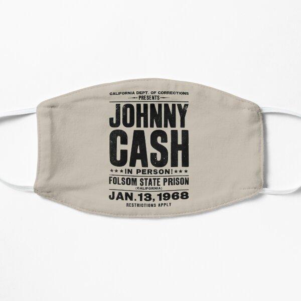 Johnny Cash Vintage Folsom Prison Concert Poster Mask