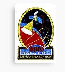 Mars Reconnaissance Orbiter (MRO) Program Logo Canvas Print