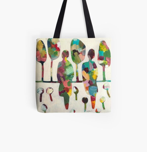In the park #2 All Over Print Tote Bag