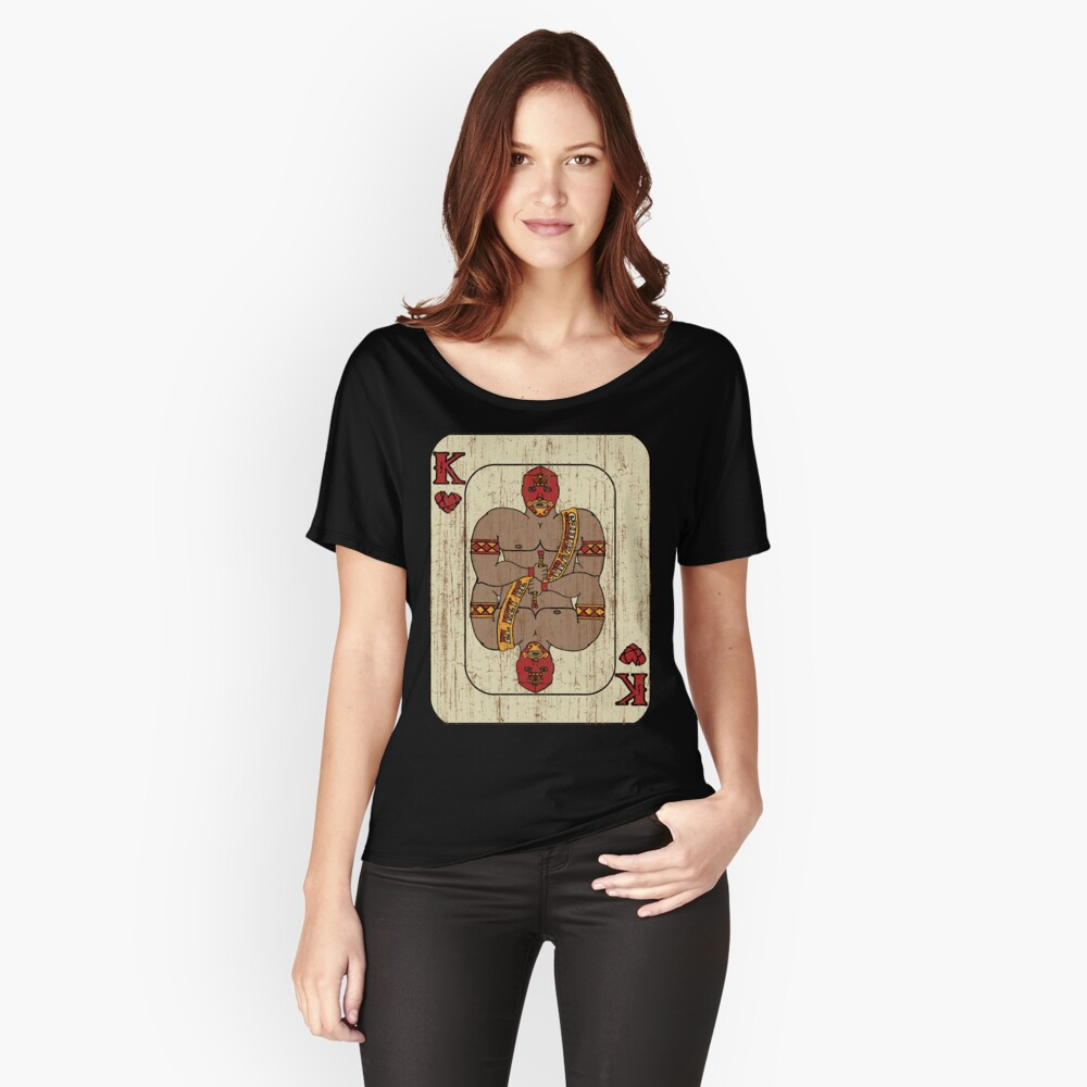 El Rey De Corazones Women's Relaxed Fit T-Shirt Front