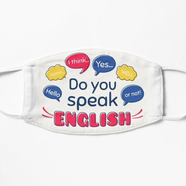 Englisch Lehrer Professor Flache Maske