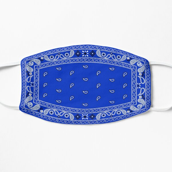 Blue Bandana | Paisley Pattern Mask