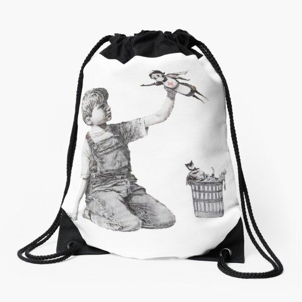 Game Changer - Banksy Drawstring Bag