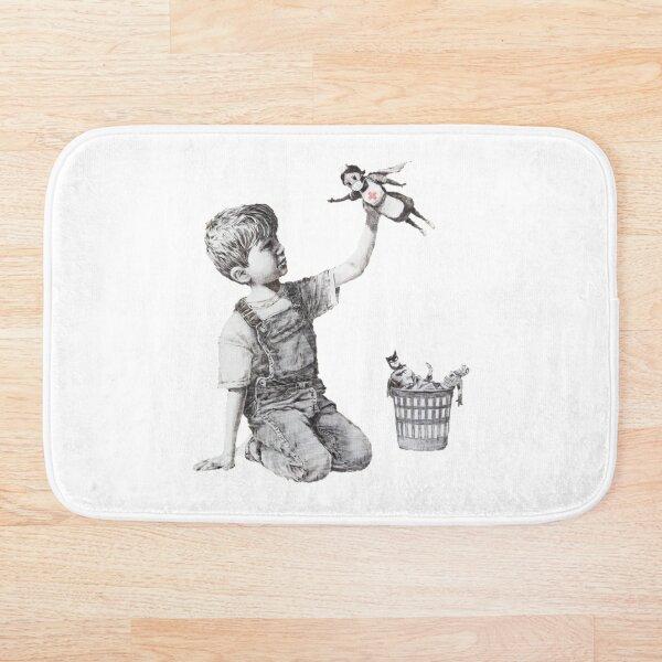 Game Changer - Banksy Bath Mat