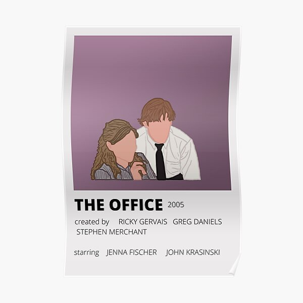 the office minimalist poster Poster