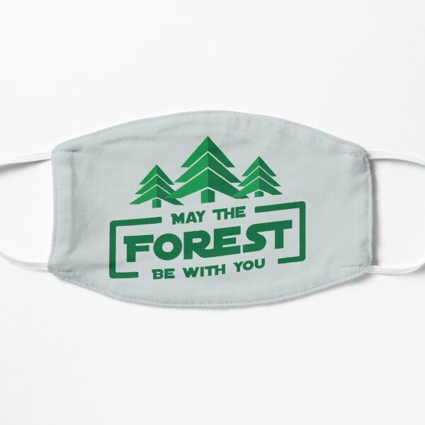 May The Forest Be With You  Mask