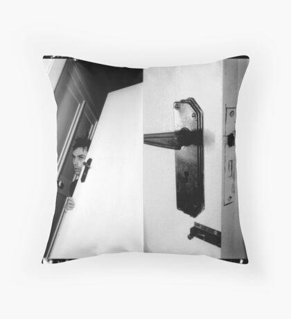 identity door (hyper_tension)  Throw Pillow