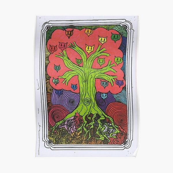 Percentum Fruit Tree Poster