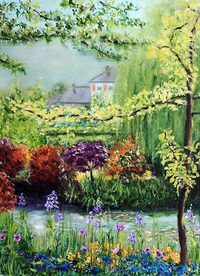 Monet's Garden by Antionette
