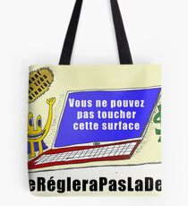 Caricature des infos options binaires - MSFT Surface Tote Bag