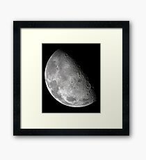 Moon from the Galileo Orbiter Series V Framed Print