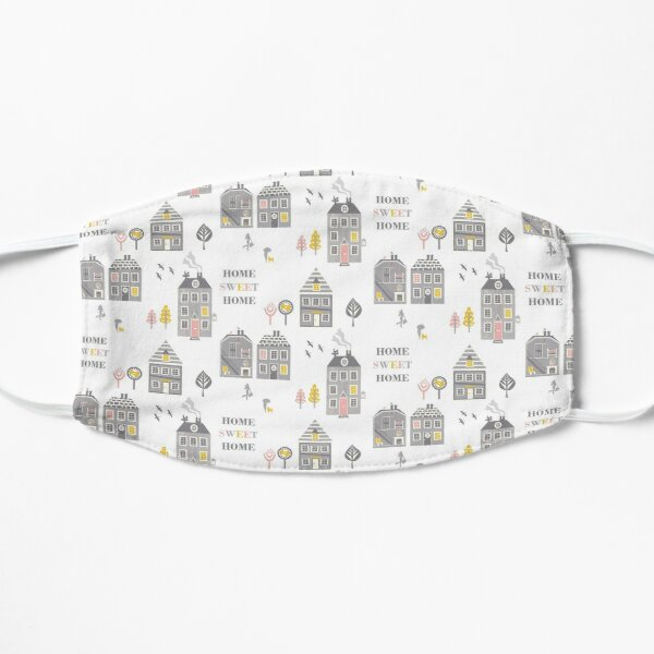 Contemporary Home Sweet Home Print Mask