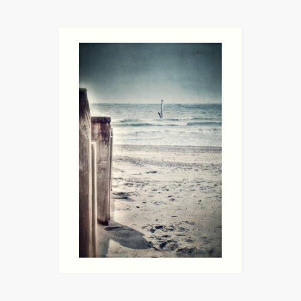The Windsurfer Art Print